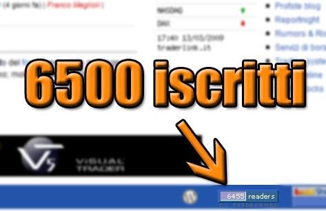 6500 iscritti